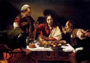 """Caravaggio: menikmati ""saat"" Emmaus"""